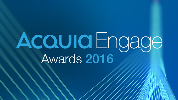 Acquia Engage Awards graphic
