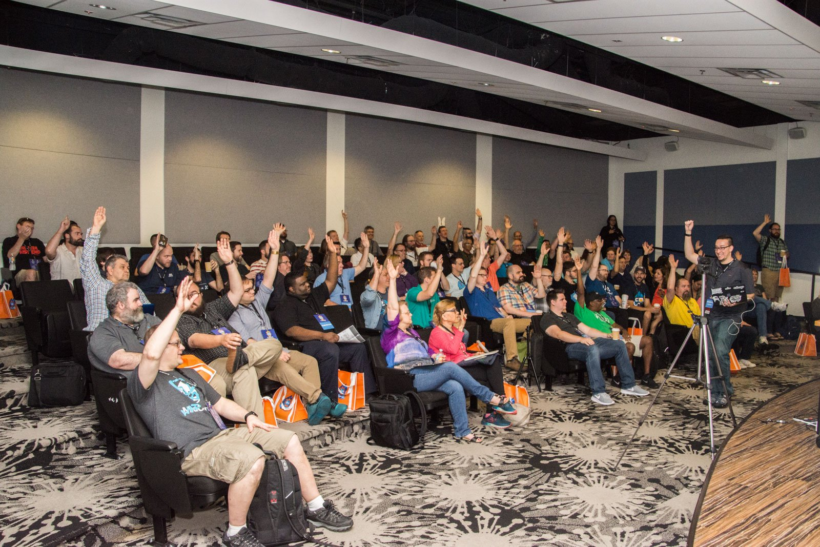 group shot of DrupalCamp Florida 2019 attendees