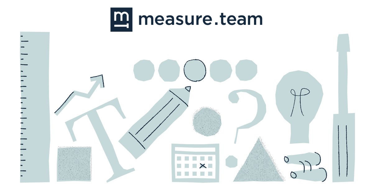 illustration of tools for measuring and thinking