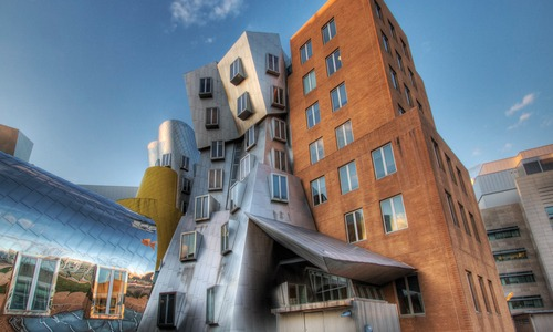 MIT Stata Center building where Design 4 Drupal is taking place in 2019