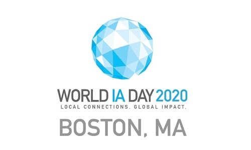 World IA Day Boston 2020 logo