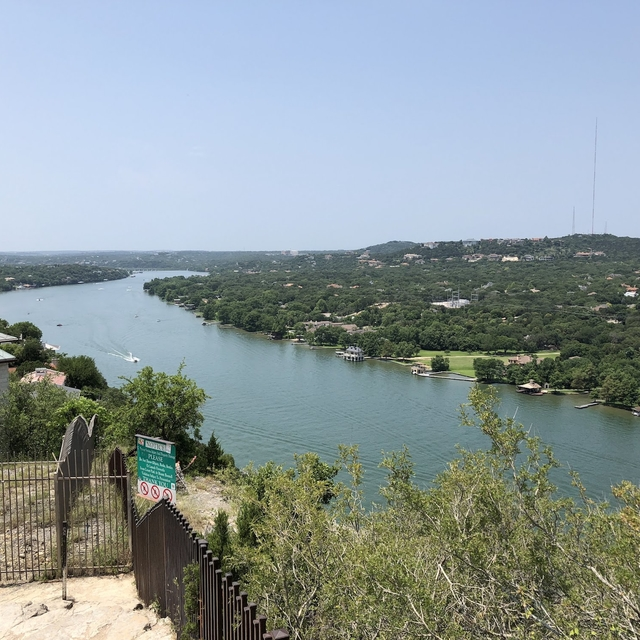 River running alongside Mt. Bonnell
