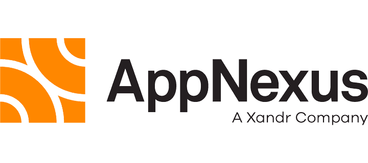 AppNexus logo with black text and an orange square